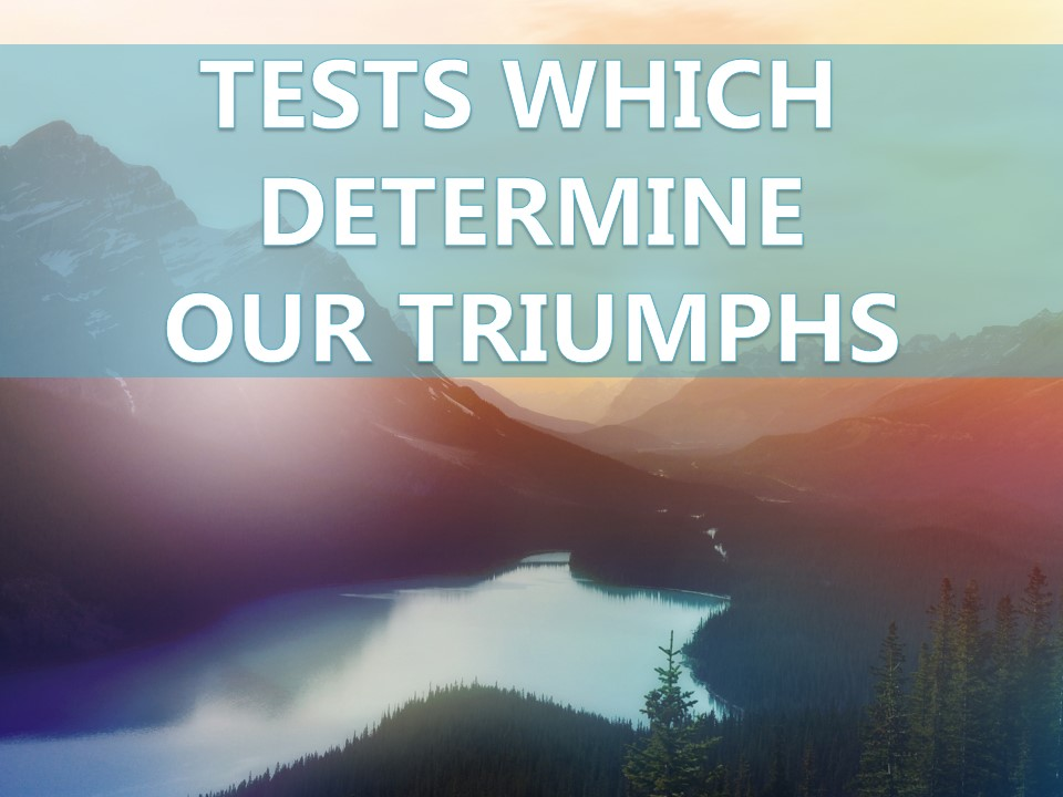 Nov. 29th, 2017 - C.O.R.E Tests Which Determine Our Triumphs