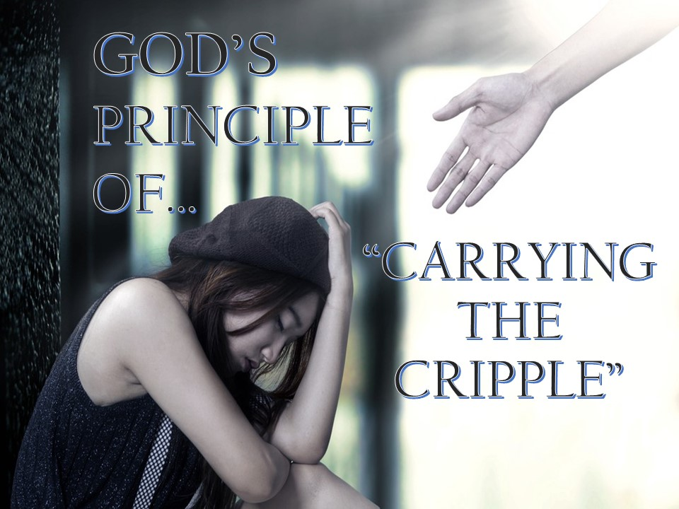"Jan.3rd,2018 - C.O.R.E God's Principle of ""Carrying The Cripple"""