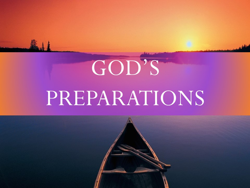 April 19th, 2018 C.O.R.E God's Preparations