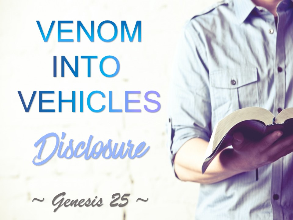 April 11th, 2018 – C.O.R.E Venom Into Vehicles Disclosure