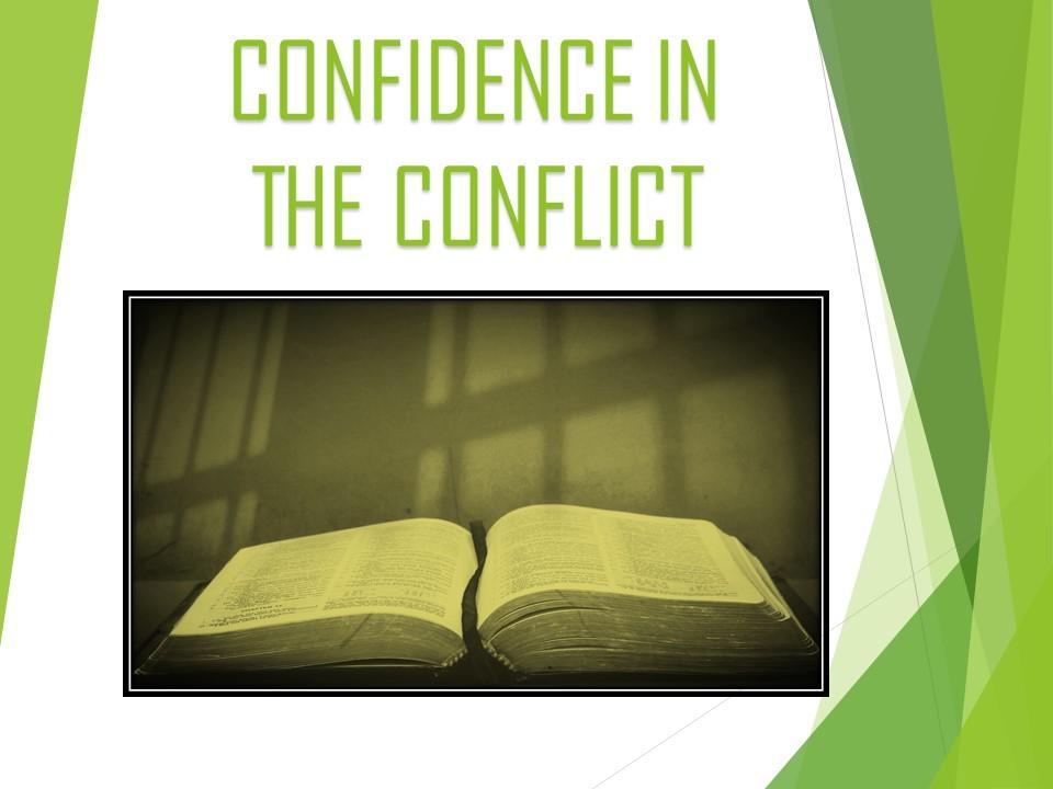 Oct.4th,2018 C.O.R.E Confidence In The Conflict